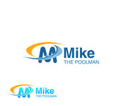Mike the Poolman  Logo - Entry #153