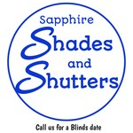 Sapphire Shades and Shutters Logo - Entry #204