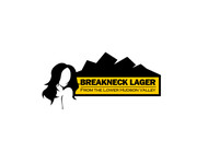 Breakneck Lager Logo - Entry #55