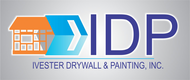 IVESTER DRYWALL & PAINTING, INC. Logo - Entry #103