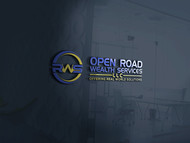 "Open Road Wealth Services, LLC  (The ""LLC"" can be dropped for design purposes.) Logo - Entry #118"