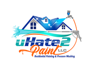uHate2Paint LLC Logo - Entry #168