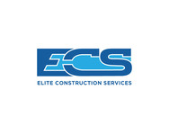 Elite Construction Services or ECS Logo - Entry #101