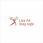 Live Fit Stay Safe Logo - Entry #57
