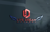 LiveDream Apparel Logo - Entry #163