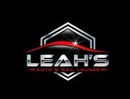 Leah's auto & nail lounge Logo - Entry #178