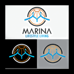 Marina lifestyle living Logo - Entry #146