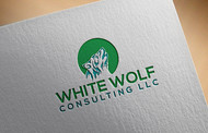 White Wolf Consulting (optional LLC) Logo - Entry #157