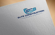 Elite Construction Services or ECS Logo - Entry #49