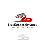 LiveDream Apparel Logo - Entry #463
