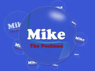 Mike the Poolman  Logo - Entry #118