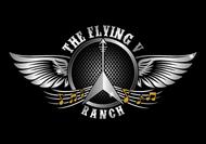 The Flying V Ranch Logo - Entry #87