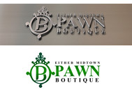 Either Midtown Pawn Boutique or just Pawn Boutique Logo - Entry #29