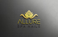 Allure Spa Nails Logo - Entry #182