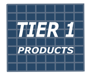 Tier 1 Products Logo - Entry #25