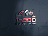1-800-Roof-Plus Logo - Entry #43
