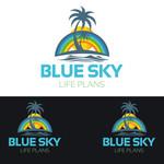 Blue Sky Life Plans Logo - Entry #391