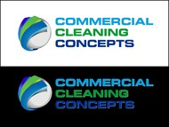 Commercial Cleaning Concepts Logo - Entry #48
