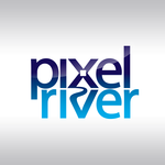 Pixel River Logo - Online Marketing Agency - Entry #82