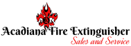 Acadiana Fire Extinguisher Sales and Service Logo - Entry #127