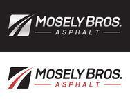 Moseley Bros. Asphalt Logo - Entry #25