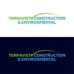 TerraVista Construction & Environmental Logo - Entry #296