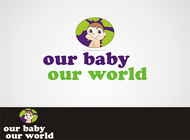 Logo for our Baby product store - Our Baby Our World - Entry #86