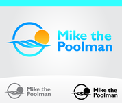 Mike the Poolman  Logo - Entry #37