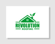 Revolution Roofing Logo - Entry #554