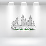 White Wolf Consulting (optional LLC) Logo - Entry #275