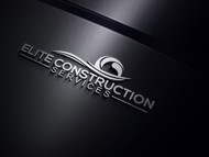 Elite Construction Services or ECS Logo - Entry #140