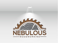 Nebulous Woodworking Logo - Entry #63