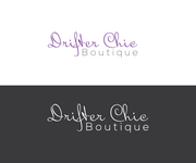 Drifter Chic Boutique Logo - Entry #375