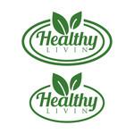 Healthy Livin Logo - Entry #50