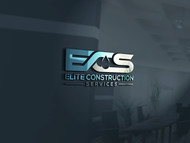 Elite Construction Services or ECS Logo - Entry #8