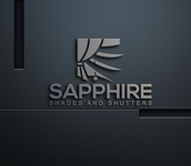 Sapphire Shades and Shutters Logo - Entry #22
