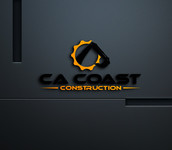 CA Coast Construction Logo - Entry #166