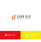 Live Fit Stay Safe Logo - Entry #277