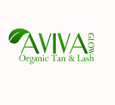AVIVA Glow - Organic Spray Tan & Lash Logo - Entry #3