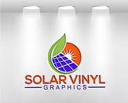 Solar Vinyl Graphics Logo - Entry #232