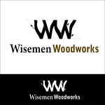 Wisemen Woodworks Logo - Entry #140