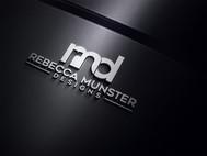 Rebecca Munster Designs (RMD) Logo - Entry #212