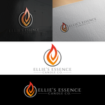 ellie's essence candle co. Logo - Entry #118