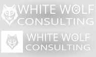 White Wolf Consulting (optional LLC) Logo - Entry #238