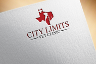 City Limits Vet Clinic Logo - Entry #164