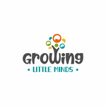 Growing Little Minds Early Learning Center or Growing Little Minds Logo - Entry #71