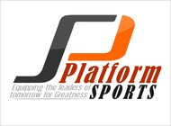 "Platform Sports "" Equipping the leaders of tomorrow for Greatness."" Logo - Entry #70"