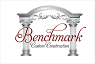 Benchmark Custom Construction Logo - Entry #144