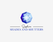 Sapphire Shades and Shutters Logo - Entry #193