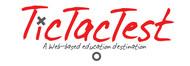 TicTacTest Logo - Entry #8